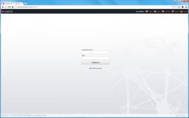 Přihlašovací obrazovka do Administrace